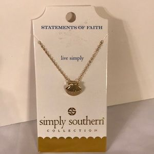 Simply Southern Statements Of Faith Necklace NWT